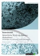 Daniel Dorniok: Betriebliche Work-Life-Balance-Maßnahmen