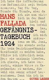 Gefängnistagebuch 1924