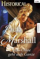 Paula Marshall: Miss Chloe geht aufs Ganze ★★★★