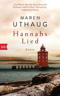 Maren Uthaug: Hannahs Lied ★★★★