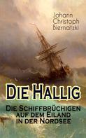 Johann Christoph Biernatzki: Die Hallig - Die Schiffbrüchigen auf dem Eiland in der Nordsee