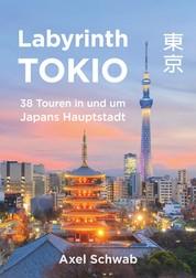 Labyrinth Tokio - 38 Touren in und um Japans Hauptstadt - Ein Führer mit 95 Bildern, 42 Karten, 300 Internetlinks und 100 Tipps.