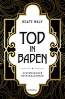 Beate Maly: Tod in Baden ★★★★