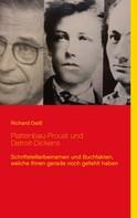 Richard Deiß: Plattenbau-Proust und Detroit-Dickens
