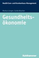 Markus Lüngen: Gesundheitsökonomie