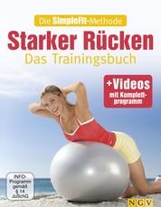 Die SimpleFit-Methode - Starker Rücken - Das Trainingsbuch - mit Videos mit Komplettprogramm