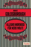 Robert Goldsborough: Allegro mordioso für Nero Wolfe ★★★★