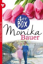 Monika Bauer 4er Box – Liebesromane - Bitter ist die Wahrheit – Deine Liebe war nur Schein – Sie war so schön wie die Sünde – Schicksal unterm Unglücksstern