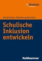 David Scheer: Schulische Inklusion entwickeln