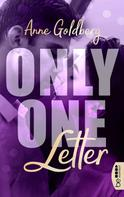 Anne Goldberg: Only One Letter ★★★