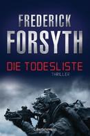Frederick Forsyth: Die Todesliste ★★★★