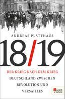 Andreas Platthaus: Der Krieg nach dem Krieg ★★★★
