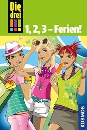 Die drei !!!, 1,2,3 - Ferien! (drei Ausrufezeichen) - Doppelband