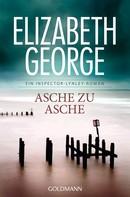 Elizabeth George: Asche zu Asche ★★★★