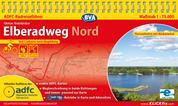 ADFC-Radreiseführer Elberadweg Nord 1:75.000 praktische Spiralbindung, reiß- und wetterfest, GPS-Tracks Download - Von Cuxhaven nach Magdeburg