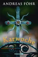 Andreas Föhr: Karwoche ★★★★
