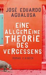 Eine allgemeine Theorie des Vergessens - Roman