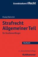 Jörg Eisele: Strafrecht Allgemeiner Teil