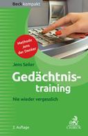 Jens Seiler: Gedächtnistraining ★★★★