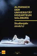 Susanne Prucher: Almanach der Universität Mozarteum Salzburg