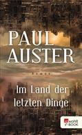Paul Auster: Im Land der letzten Dinge ★★★★