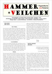 Hammer + Veilchen Nr. 8 - Flugschriften für neue Kurzprosa