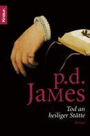 P. D. James: Tod an heiliger Stätte ★★★★