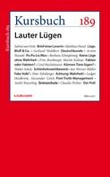 Peter Felixberger: Kursbuch 189