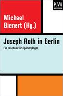 Joseph Roth: Joseph Roth in Berlin