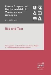 Bild und Text - VvAa Heft 1 / 2. Jahrgang (2017)