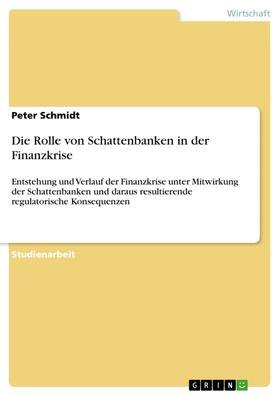 Die Rolle von Schattenbanken in der Finanzkrise