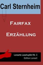 Fairfax - Erzählung