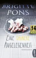 Brigitte Pons: Eine saubere Angelegenheit ★★★★