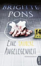 Eine saubere Angelegenheit - Kriminalroman