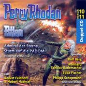 Atlan Traversan-Zyklus 01/02: Admiral der Sterne / Sturm auf die PADOM - Perry Rhodan Hörspiel 10 und 11
