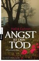 Hallie Ephron: Angst ist dein Tod ★★★