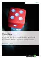 Michael Lang: Conjoint Analysis in Marketing Research