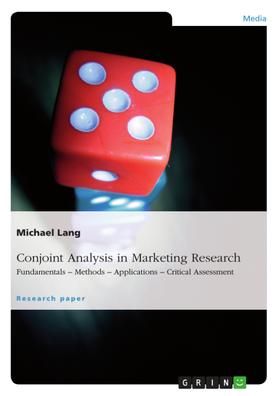 Conjoint Analysis in Marketing Research