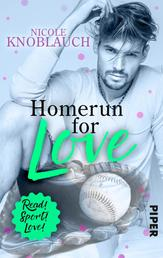 Homerun for love - Roman