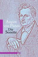 August von Platen: Die Sonette