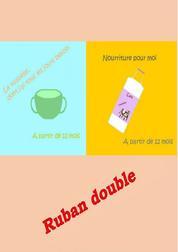 Ruban double - Vaisselle et de la Nourriture pour les tout-petits