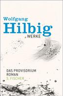 Wolfgang Hilbig: Werke, Band 6: Das Provisorium