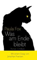 Paula Fox: Was am Ende bleibt ★★★