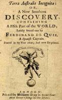 Ferdinand de Quir: Terra Australis Incognita