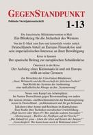 GegenStandpunkt Verlag München: GegenStandpunkt 1-13