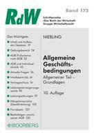 Jürgen Niebling: Allgemeine Geschäftsbedingungen