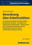 Volker Steinborn: Verordnung über Arbeitsstätten