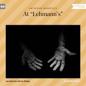 """At """"Lehmann's"""" (Unabridged)"""