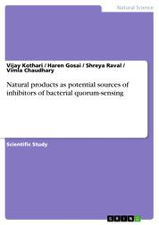 Natural products as potential sources of inhibitors of bacterial quorum-sensing