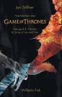 Jan Söffner: Nachdenken über ›Game of Thrones‹ ★★★★★